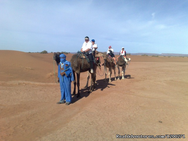 Morocco hiking mountain & Sahara Eco tours