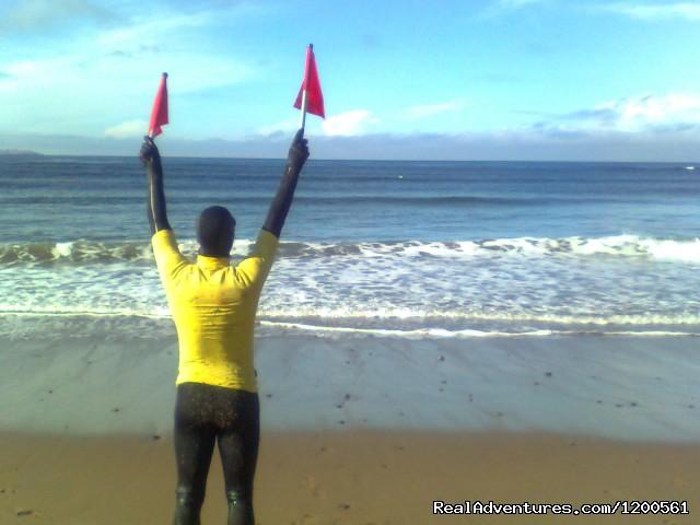 Lifeguarding the beach (#12 of 17) - Surf & Outdoor Sports Training Program  Ireland.