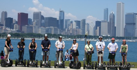Amazing Lakefront Segway Tour - Bike and Roll Chicago