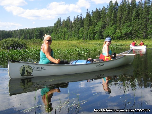 Wilderness canoe trips in Algonquin Park