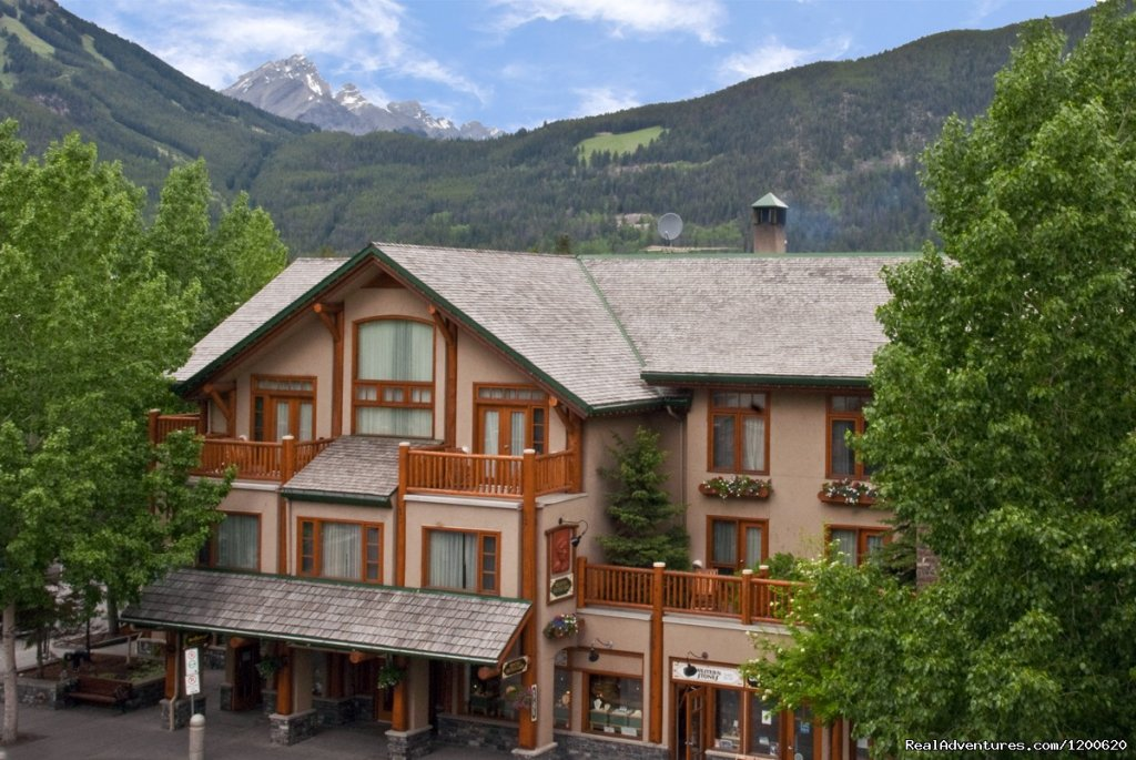 Summer Exterior | Image #1/15 | Banff, Alberta  | Hotels & Resorts | Brewster's Mountain Lodge