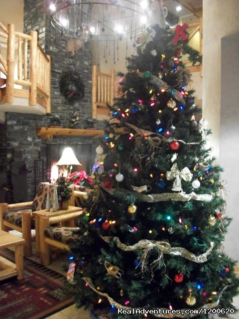 Christmas in the Lobby (#16 of 18) - Brewster's Mountain Lodge