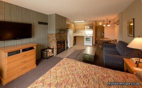 Studio Suite (#5 of 7) - Douglas Fir Resort & Chalets