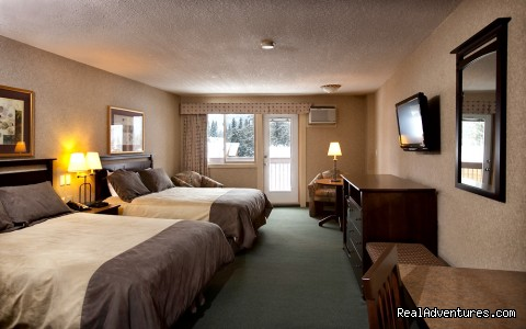 Standard 2 Queen Bed Room - High Country Inn
