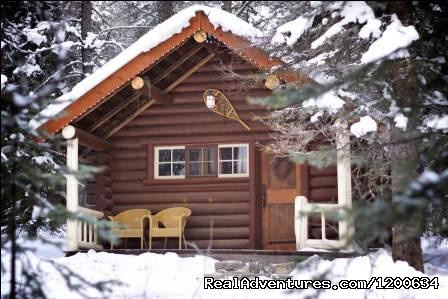 Historic Log Cabin - Double (#7 of 11) - Storm Mountain Lodge and Cabins