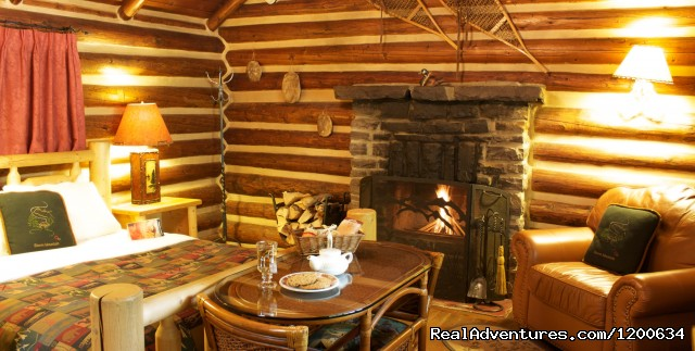 Log Cabin Interior (#8 of 11) - Storm Mountain Lodge and Cabins