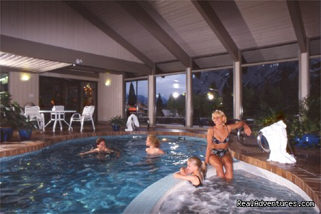 Pool & Hot Tub - Fun Summers & Winters in Banff National Park