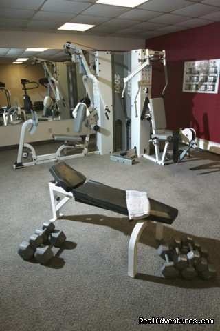 Fitness Centre - Fun Summers & Winters in Banff National Park