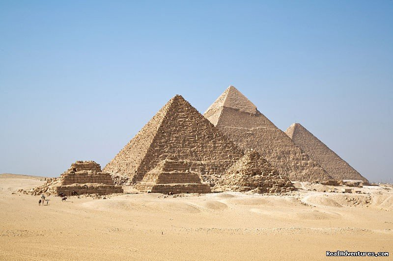 Pyramids at Gizah | Image #3/3 | Trafalgar Tours, Europe/Egypt from $145 Day!