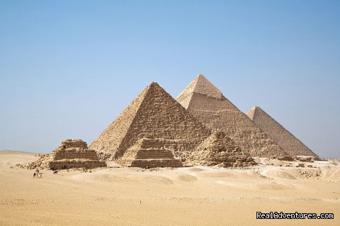 Pyramids at Gizah - Trafalgar Tours, Europe/Egypt from $145 Day!