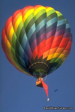 Hot Air Balloon Wedding Hocking Hills Ohio - Georgian Manner B&B Hot Air Balloon Weddings