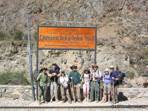 Inca Trail enter Km 82 (#8 of 10) - The Classic Inca Trail 4 Days