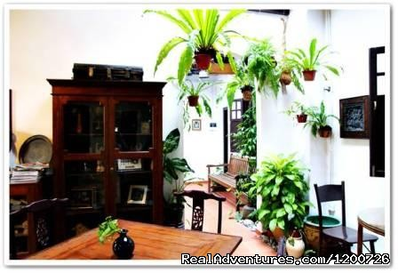 Cafe - Cyclamen Cottage, a heritage hotel in Melaka B & B