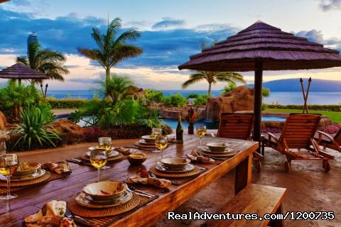 Dinner at Sunset - ''Majestic Maui'' Resort Estate