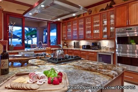 Gourmet Kitchen - ''Majestic Maui'' Resort Estate