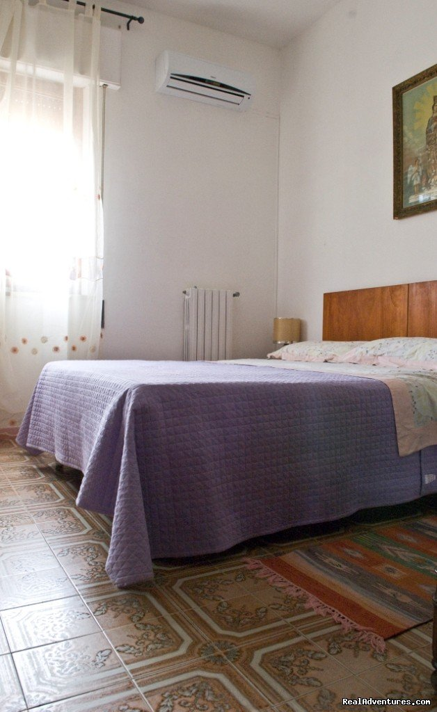 comfortable bedroom | Image #3/10 | Apartment with Terace in Trapani