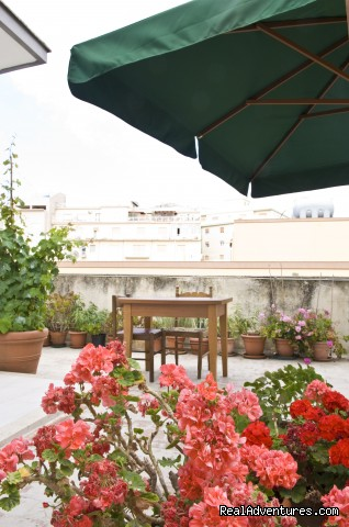 a very nice and big terrace  - Apartment with Terace in Trapani