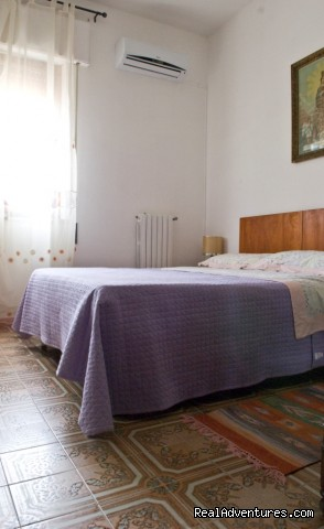 comfortable bedroom - Apartment with Terace in Trapani
