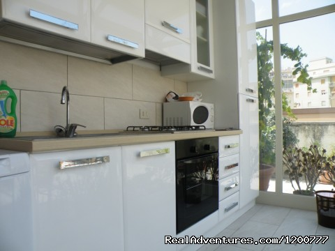 kitchen - Apartment with Terace in Trapani