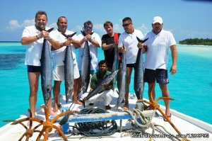Maldives Trips - Fishing, Surfing, & Scuba Diving Male, Maldives Fishing Trips