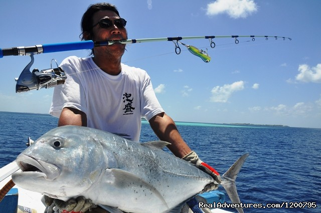 Poping trip - Maldives Trips - Fishing, Surfing, & Scuba Diving