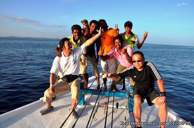 Nakamura san trip with Dolphin  May 2012 (#5 of 24) - Maldives Trips - Fishing, Surfing, & Scuba Diving