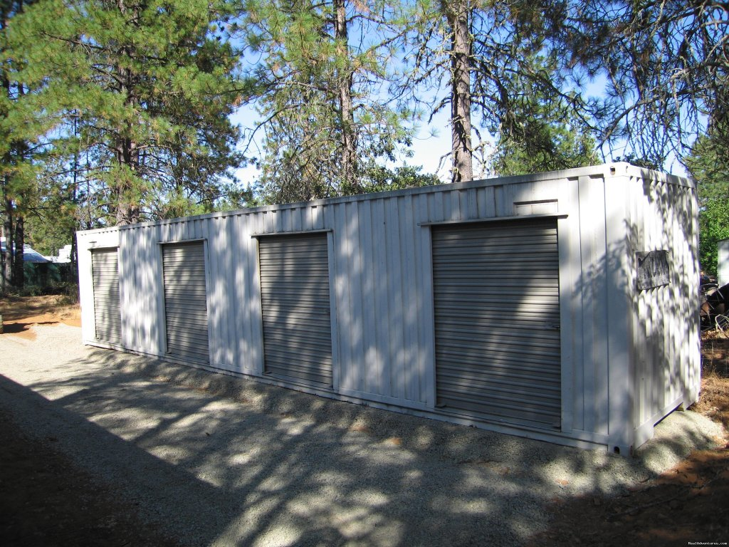 Storage units on the property | Image #8/18 | Lone Mountain RV Resort and Campground