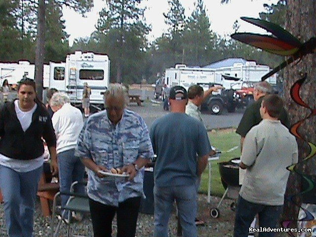 Comunity BBQ's | Image #11/18 | Lone Mountain RV Resort and Campground