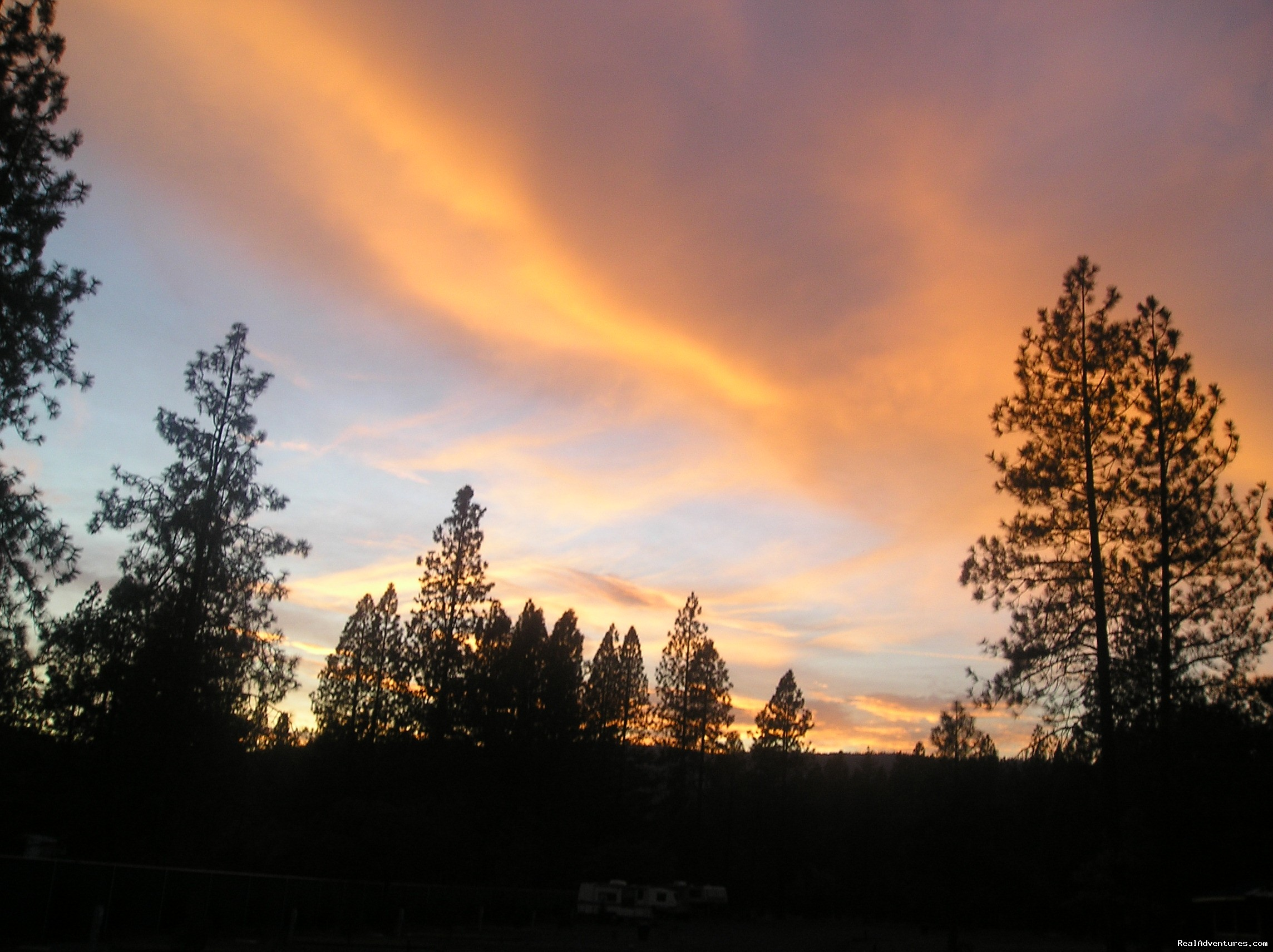 Incredible Sunsets are very common in Southern Oregon | Image #13/18 | Lone Mountain RV Resort and Campground