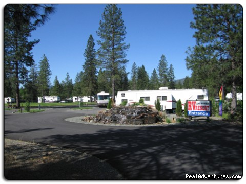 Lone Mountain RV Resort and Campground: Lone Mountain RV Resort Entrance