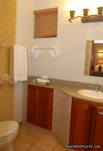 Condominium bathroom -  Look out over paradise at the Mayan Princess!