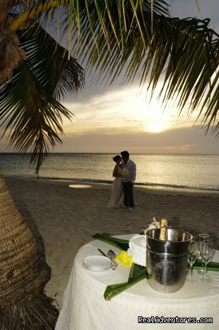 A wedding at the beach -  Look out over paradise at the Mayan Princess!
