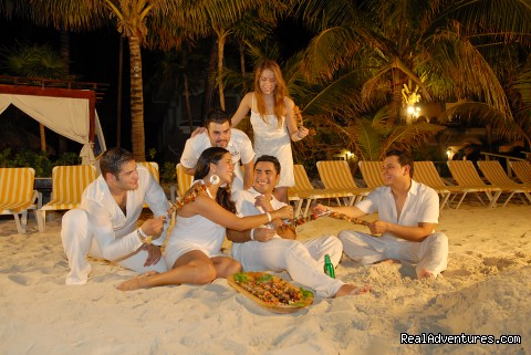 Party at the beach -  Look out over paradise at the Mayan Princess!