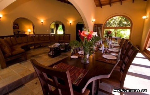 Villa 19 Dining Area - Recreo Resort Costa Rica