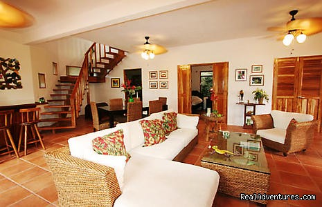 Living Area Villa 2 - Recreo Resort Costa Rica