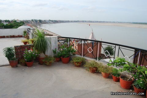 Roof top - Rahul guest house & hotels