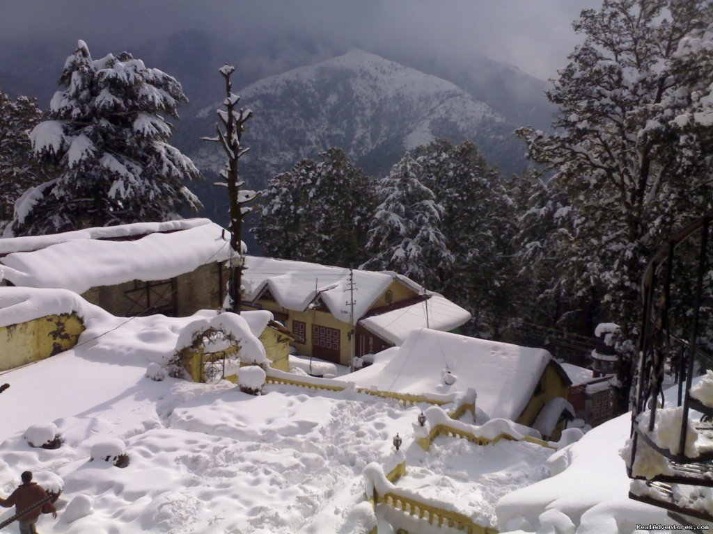 Sagrika Resort During Snow  | Image #2/7 | Sagrika Resort Dalhousie HP India