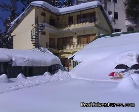 Sagrika Resort During Snow  - Sagrika Resort Dalhousie HP India