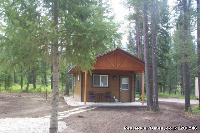 Couples Cabin - Glacier National Park Cabins
