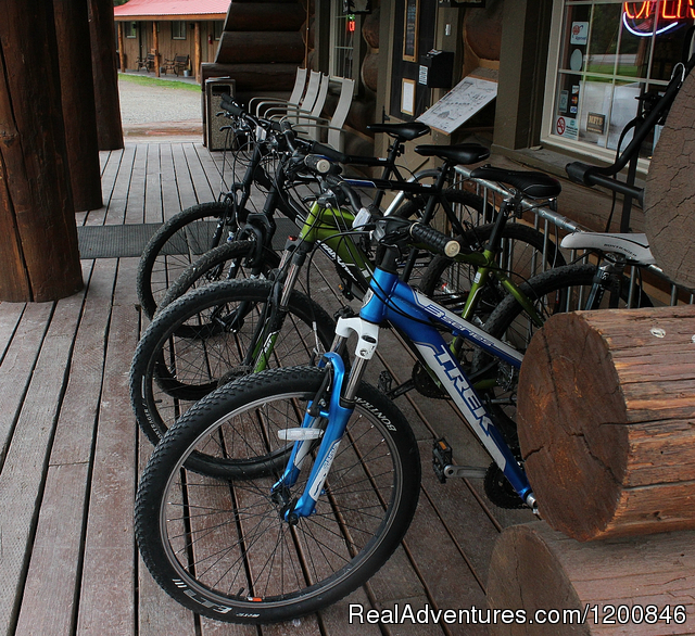 Bike Rental - Glacier National Park Cabins