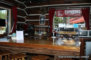 Espresso Bar - Glacier National Park Cabins