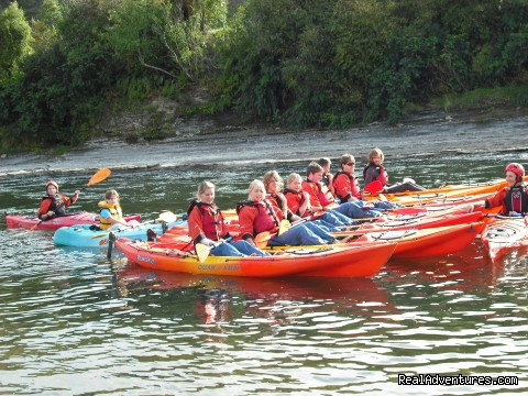 Sit on top Kayaks - Canoe Hire And Jet Boat Tours Taumarunui