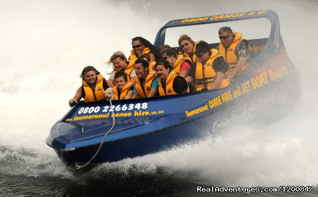 Canoe Hire And Jet Boat Tours Taumarunui