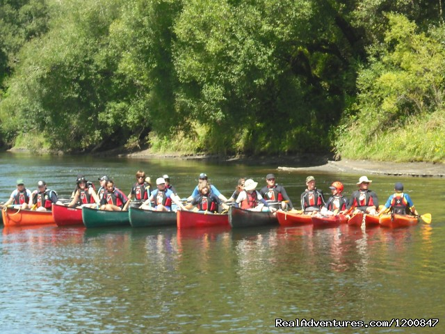 Canadian Canoe - Canoe Hire And Jet Boat Tours Taumarunui
