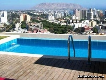 Condominium In Miraflores With Pool, Sauna, Gym, J