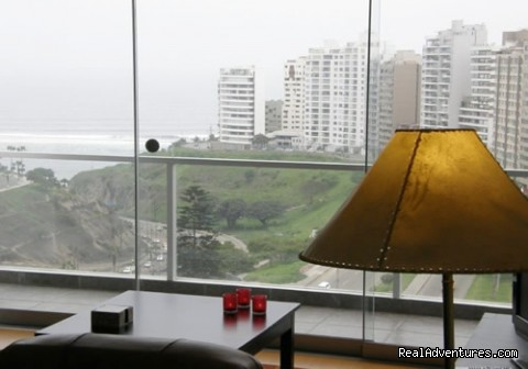 Ocean View, Comfortable Condominium In Miraflores