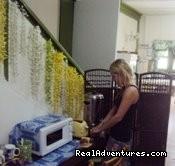 BREAKFAST AERA - Ocean Palmz Guest House