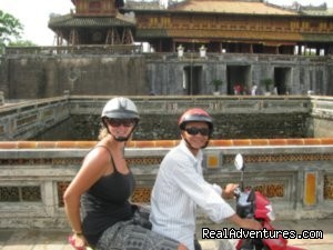 MOTO BIKE TOUR IN HUE - VIETNAM - Hue City Tour, Hoi An, My Son Holly Land Trip,
