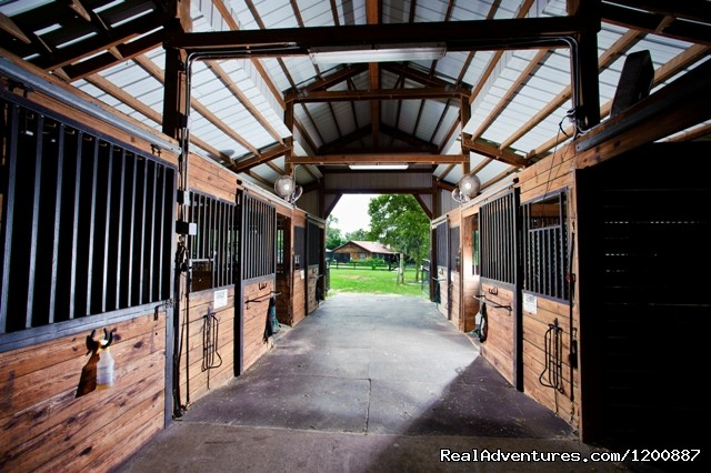 Inside the barn. (#11 of 14) - Romantic Horseback Riding Getaways