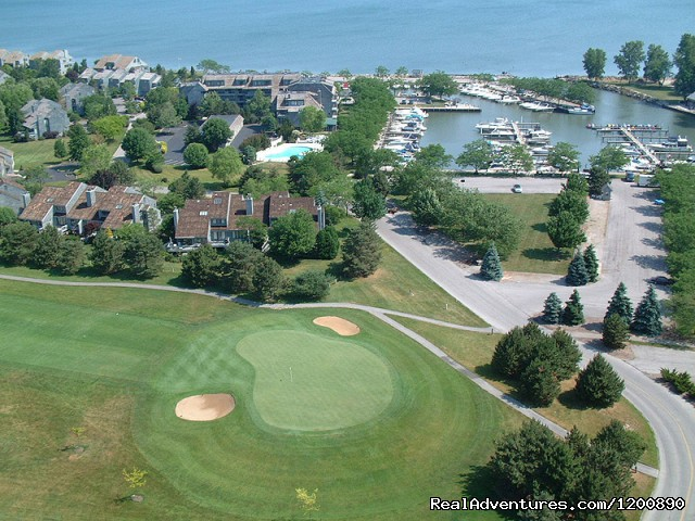 Golf Course and Marina on Lake Erie - Summer Winery, Romance and Family Vacation Getaway